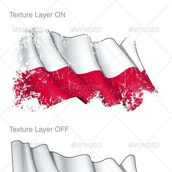 Polish State & National Flag