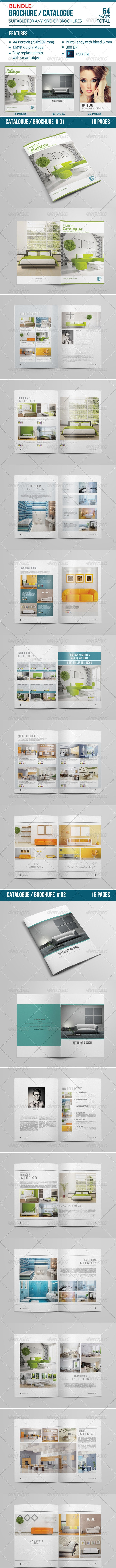 Catalogue / Brochure Bundle Vol. 03 - Catalogs Brochures