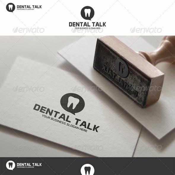 Dental Talk Logo Template