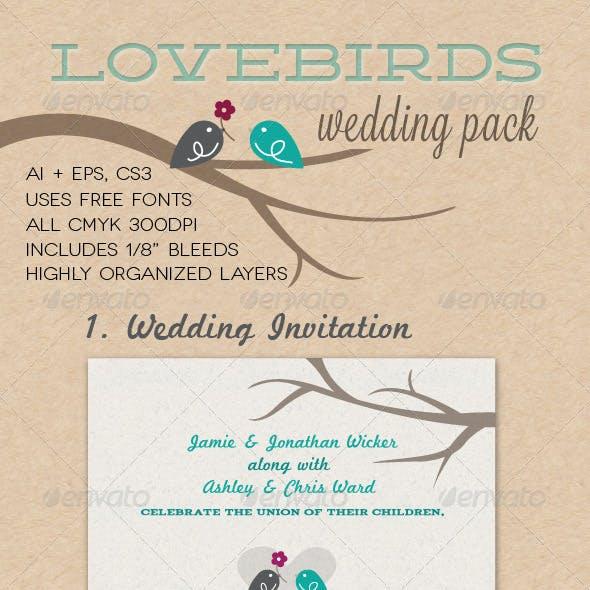 Lovebirds Wedding Pack