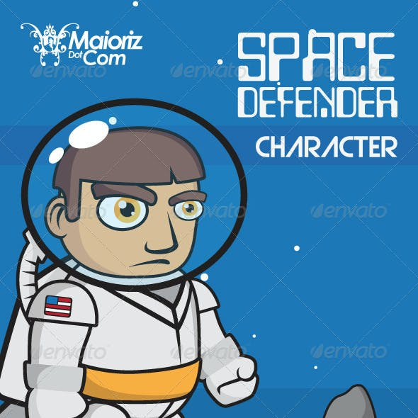 Space Defender Character