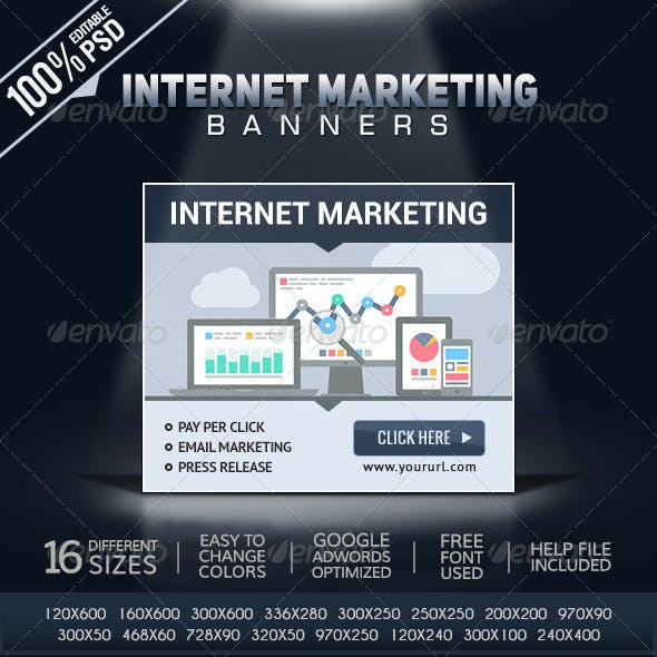 Online Marketing Banners