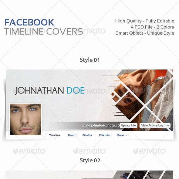 4 Facebook Timeline Covers