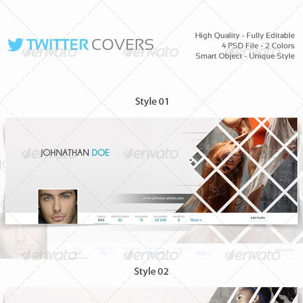 4 Twitter Covers