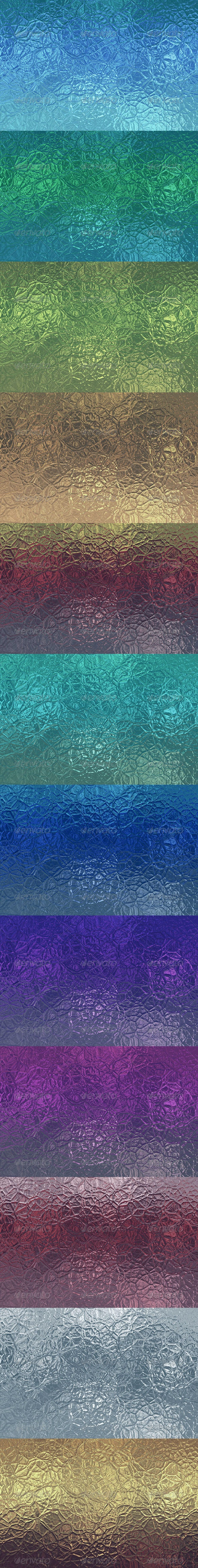 12 Glass Backgrounds - Abstract Backgrounds