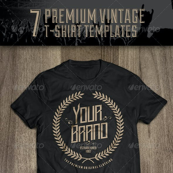 76439725 Vector T-shirt Designs from GraphicRiver