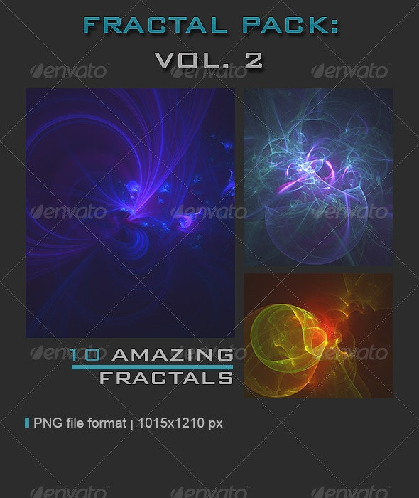 Fractal Pack Vol. 2 - Abstract Backgrounds