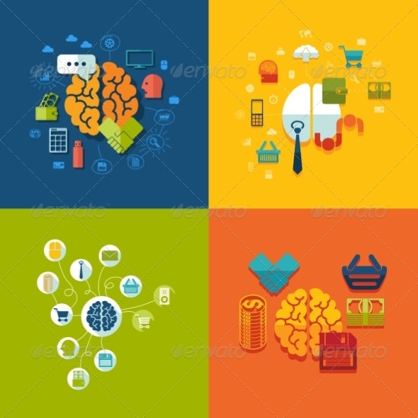 Set of Business Icons - Web Technology