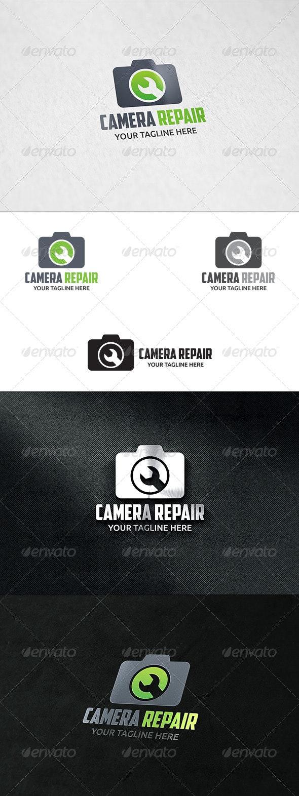 Camera Repair - Logo Template - Symbols Logo Templates