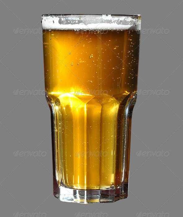 Beer Glass - Food & Drink Isolated Objects