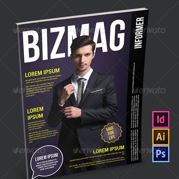 Bussines Magazine Template