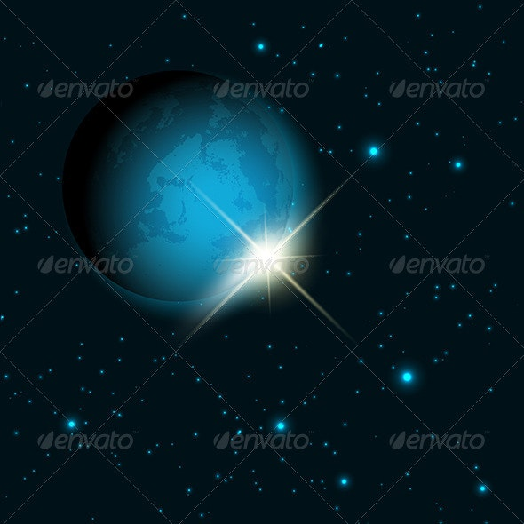 Space Themed Background - Nature Conceptual
