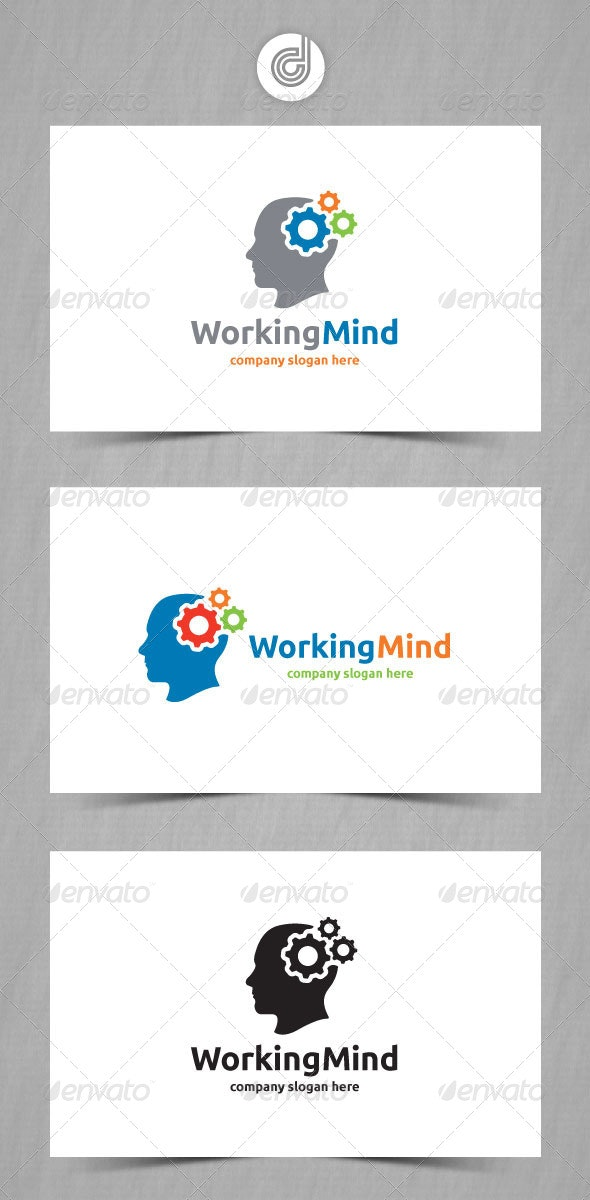 Working Mind - Humans Logo Templates