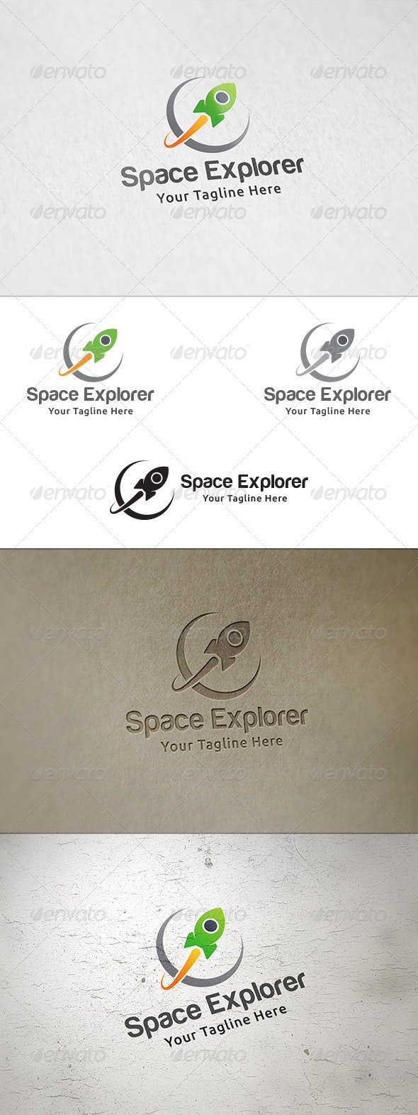 Space Explorer - Logo Template - Objects Logo Templates