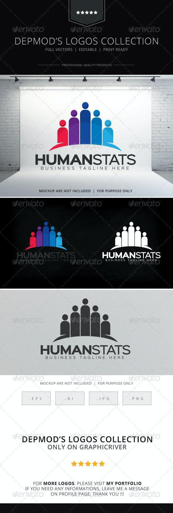 Human Stats Logo - Symbols Logo Templates