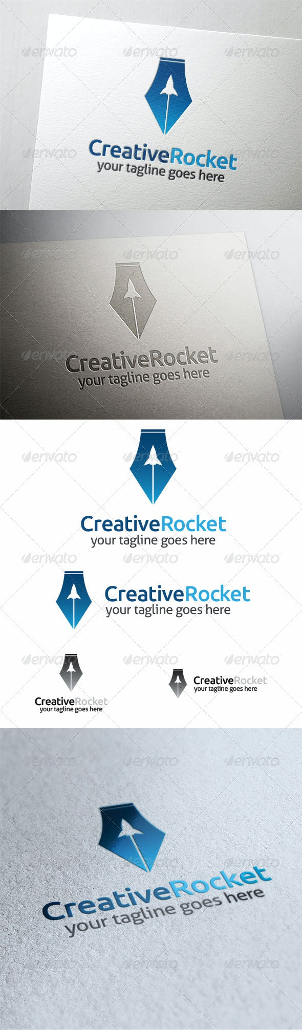Creative Rocket - Symbols Logo Templates