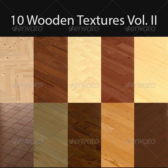 10 Wooden Floor Tileable Texture Vol. II