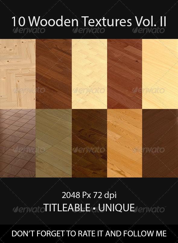 10 Wooden Floor Tileable Texture Vol. II - Wood Textures