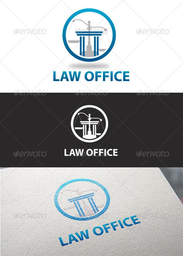 Justice Law Office - Logo Templates