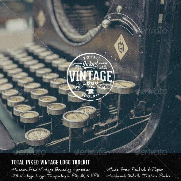 Total Inked Vintage Logo Toolkit