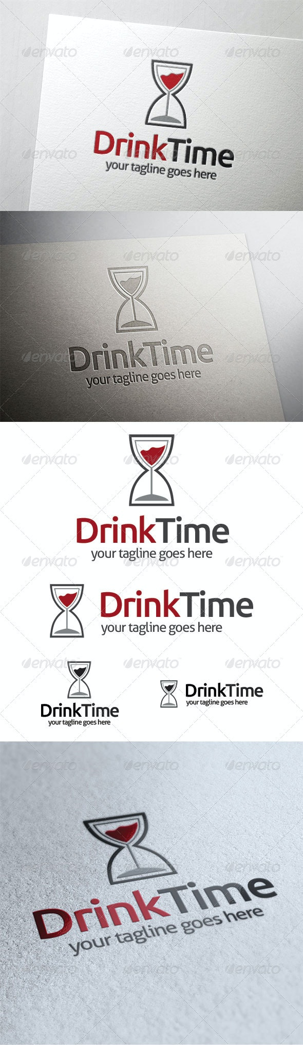 Drink Time - Symbols Logo Templates