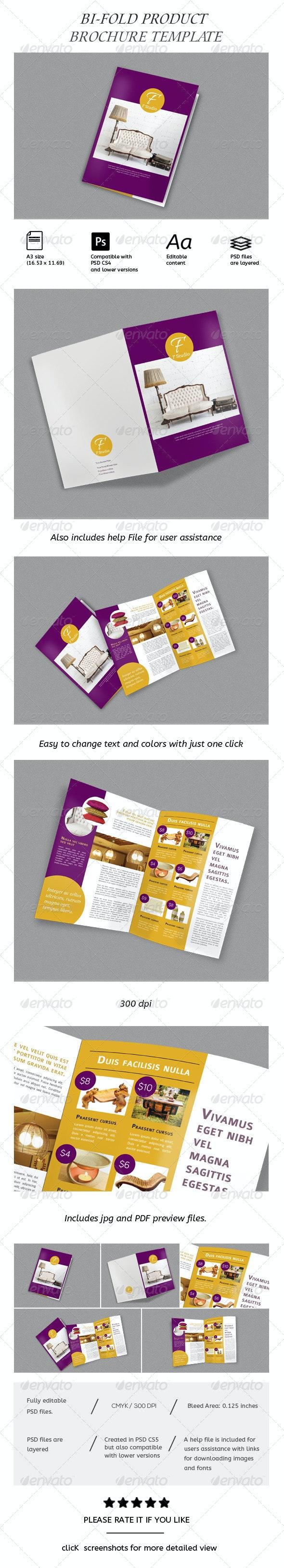 Product Brochure/ Catalog - Brochures Print Templates