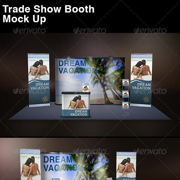 Trade Show Display Mock Up