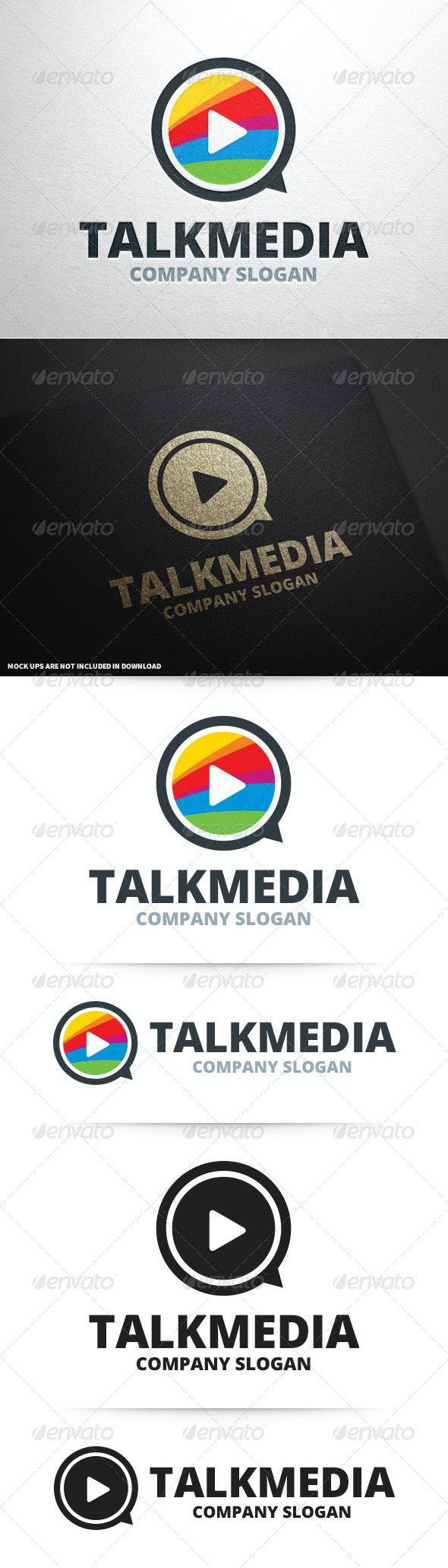 Talk Media Logo Template - Symbols Logo Templates
