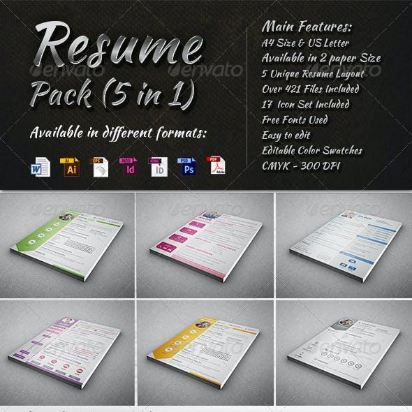 Resume Pack (5 in 1)