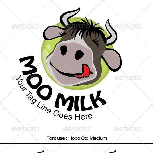 Moo Milk Logo