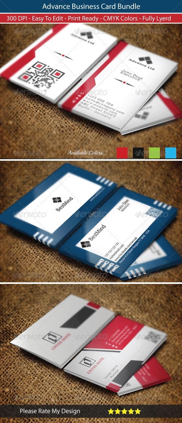 Advance Business Card Bundle - Business Cards Print Templates