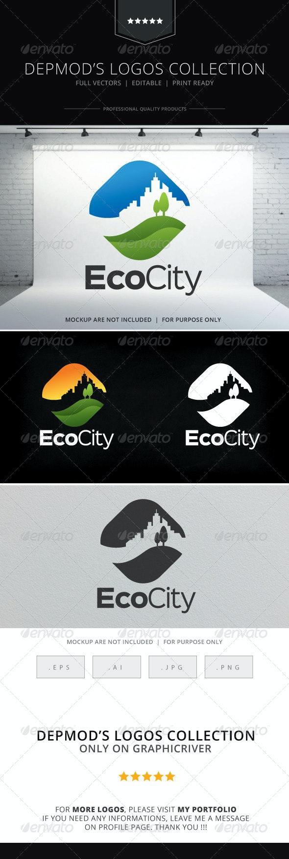 Eco City Logo - Nature Logo Templates