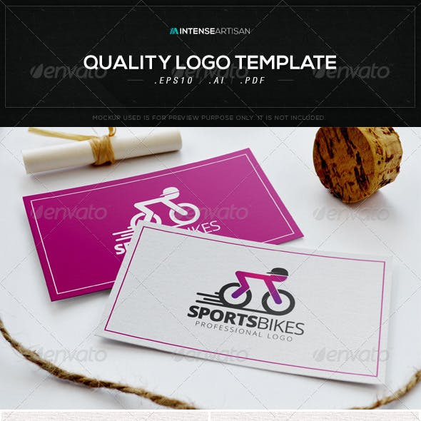 Sports Bike Logo Template