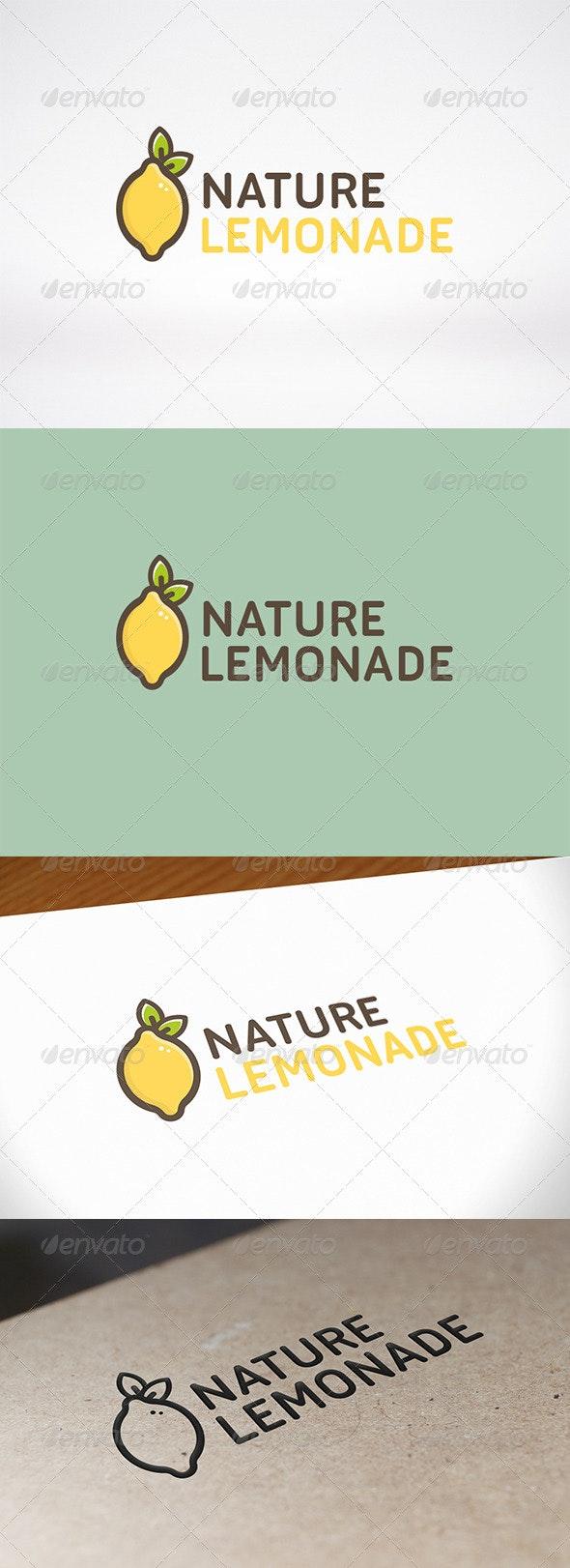 Lemon Logo Template - Food Logo Templates