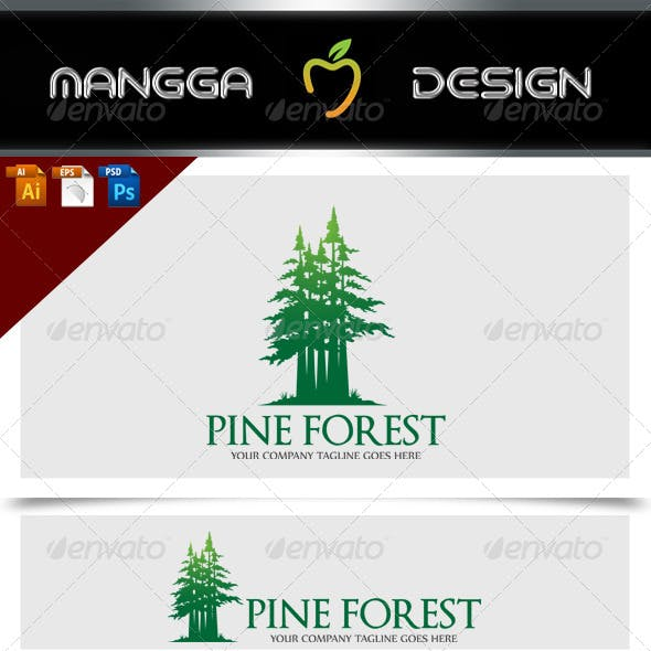 Pine Forest Logo