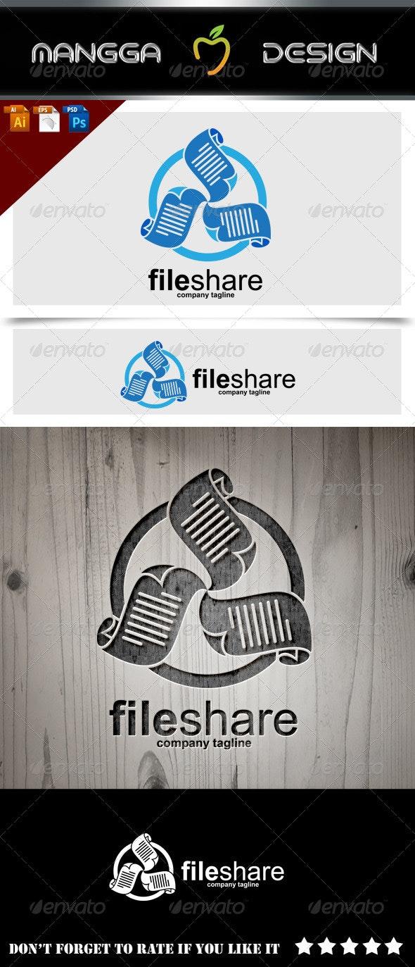 File Share Logo - Symbols Logo Templates