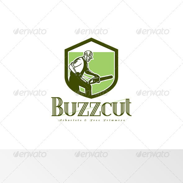 Buzzcut Arborist and Tree Surgeons Logo