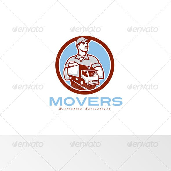 Movers Relocation Specialist Logo