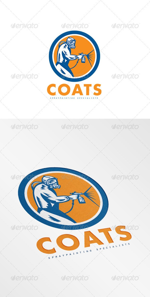 Coats Spray Painting Logo