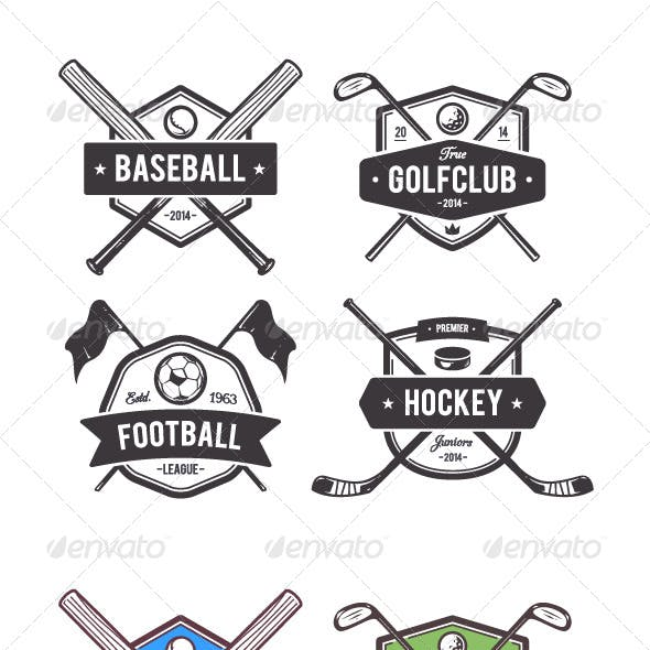 Sport Vector Emblems