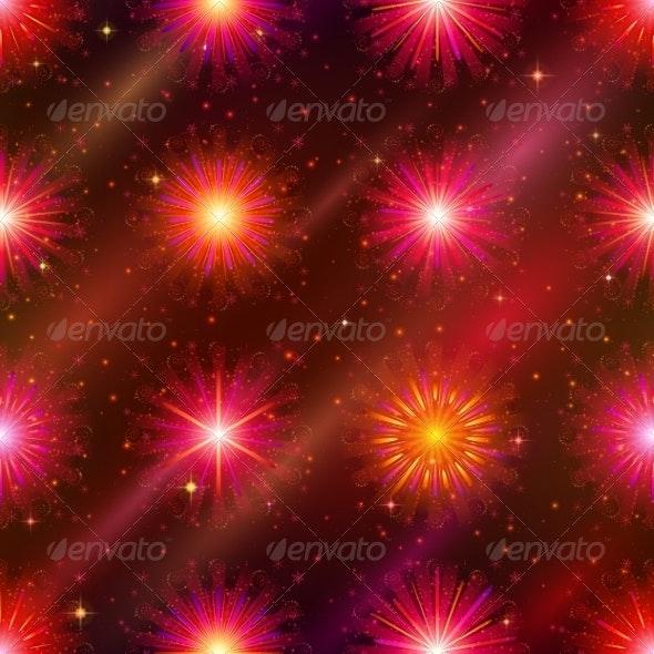 Fireworks Seamless - Miscellaneous Seasons/Holidays