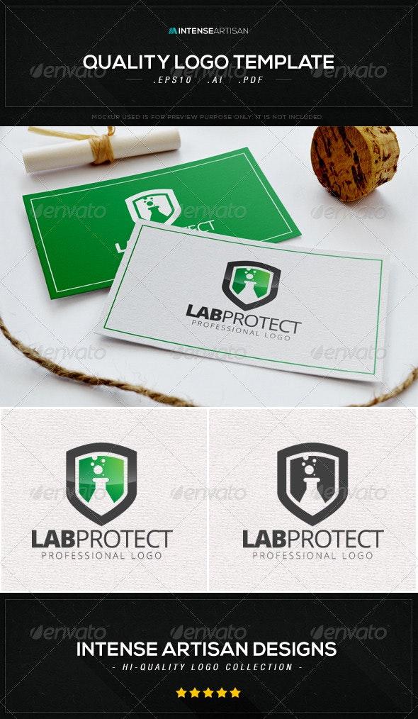 Lab Protect Logo Template - Symbols Logo Templates