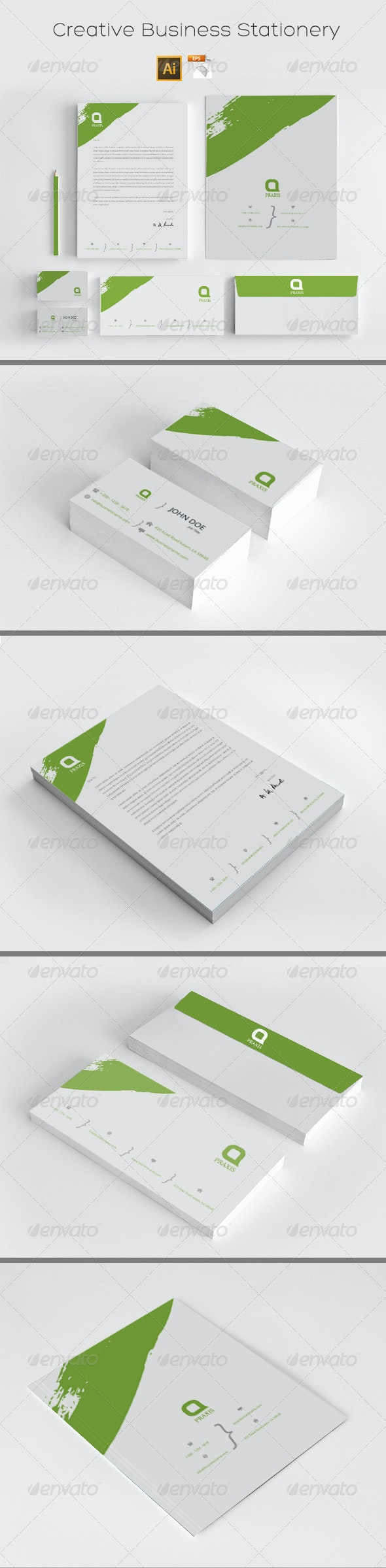 Creative Business Stationery - Stationery Print Templates