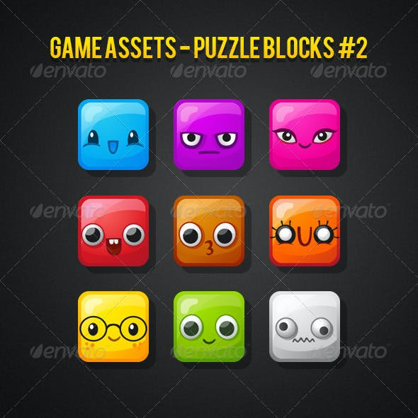 Puzzle Blocks - Game Assets #2