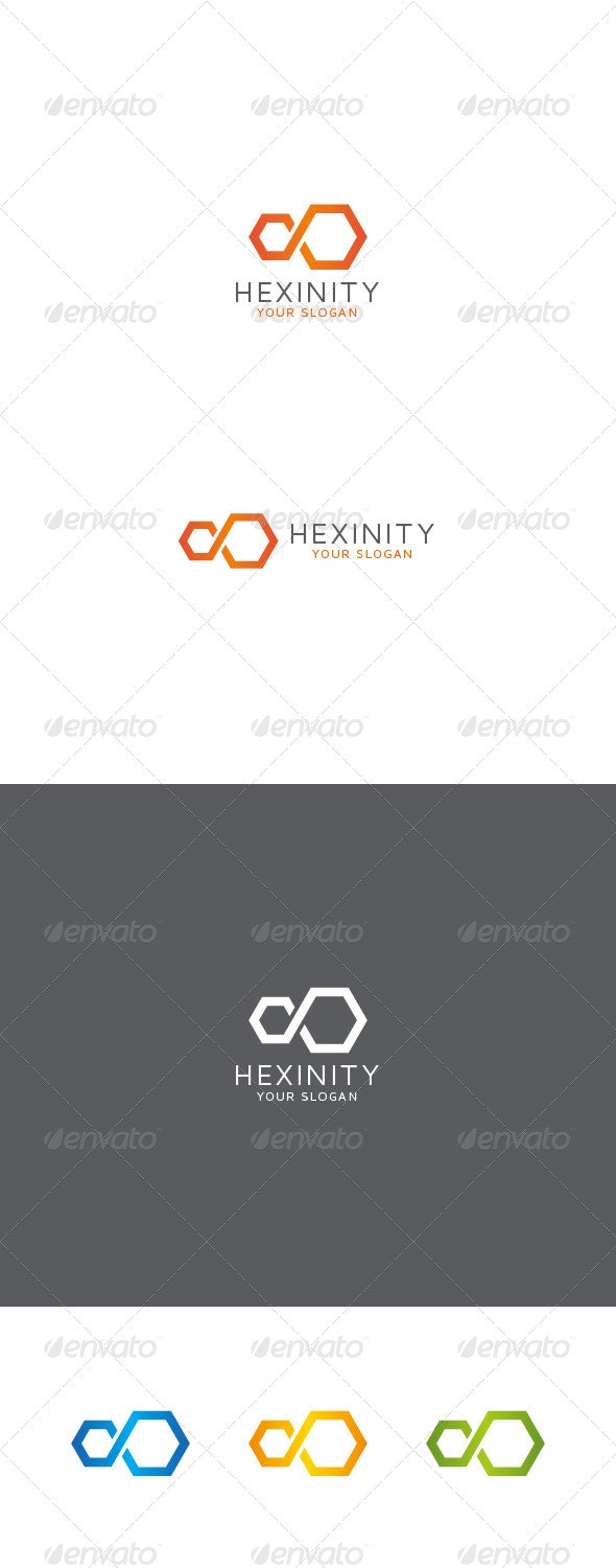 Infinity Hexagon Logo