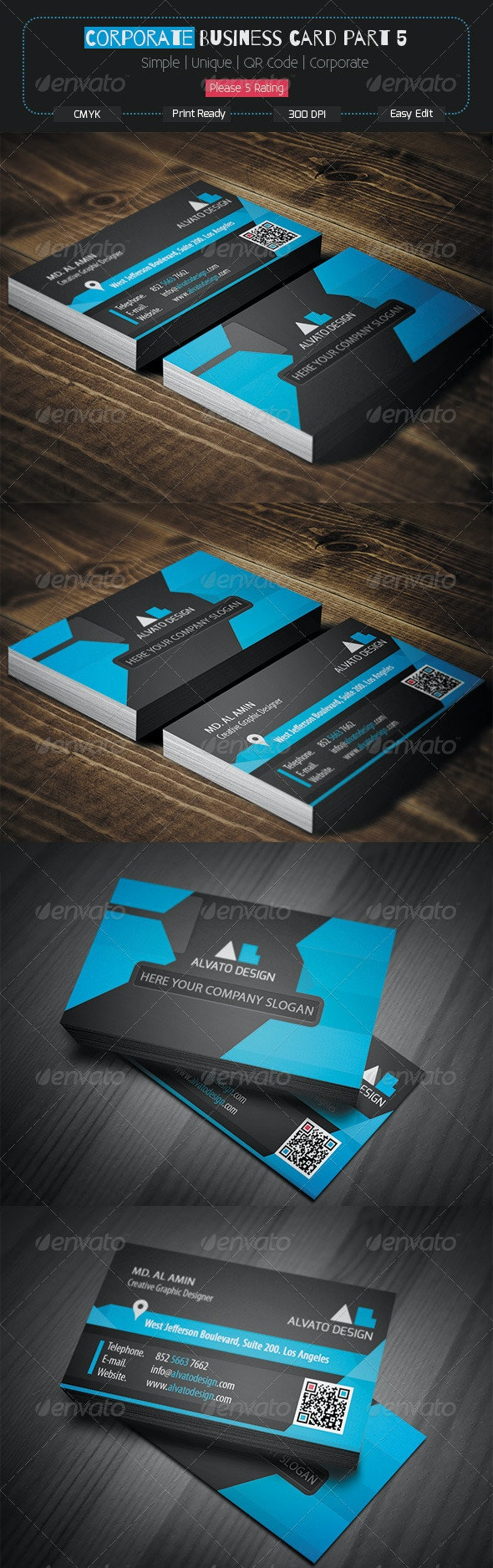 Corporate Business Card Part 5 - Corporate Business Cards