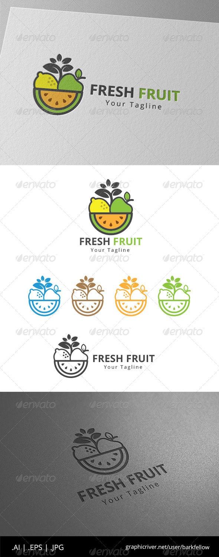 Fresh Fruits Juice Logo