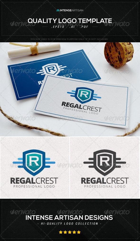 Regal Crest Logo Template - Letters Logo Templates