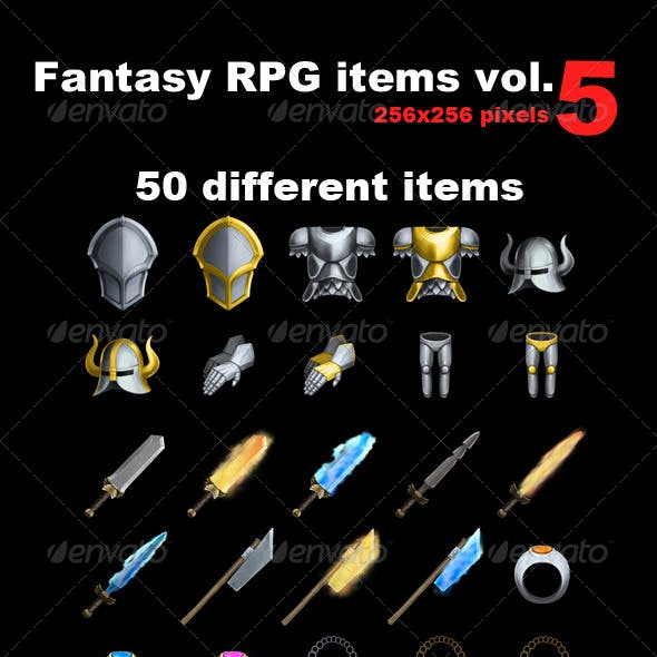 Fantasy RPG Icons vol 5