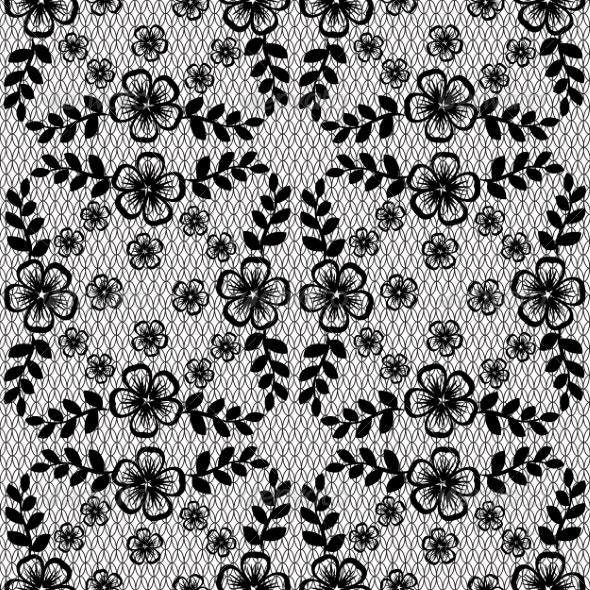 Floral Lace Pattern - Patterns Decorative